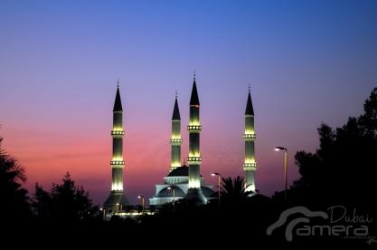 Sunset of Masjid