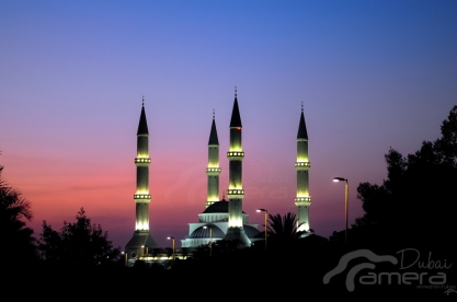 Sunset of Masjid