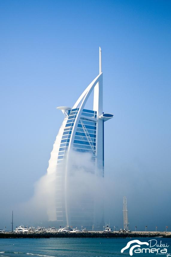 Burj Al-Arab & fog 1