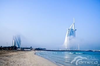 Burj Al-Arab & fog 2