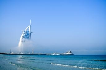 Burj Al-Arab & fog 3