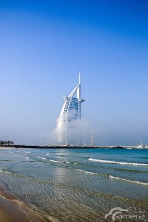 Burj Al-Arab & fog 4